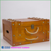 Yiwu Hot Professional Vintage 6 bottle wood wine box