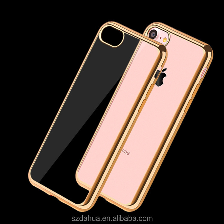 best selling items mobile phone shell for iphone 7,clear transparent crystal tpu hard cover phone
