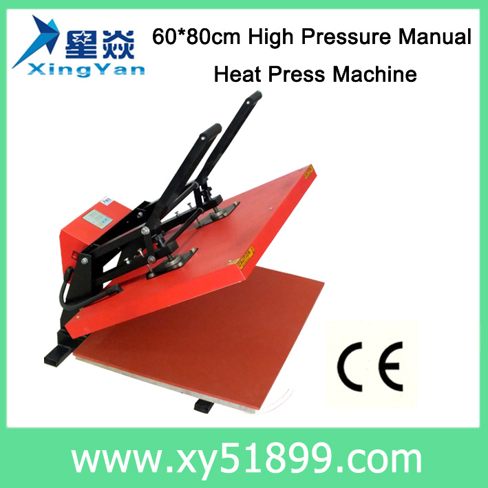 60*80CM High Pressure Manual Heat Press <strong>Machine</strong>