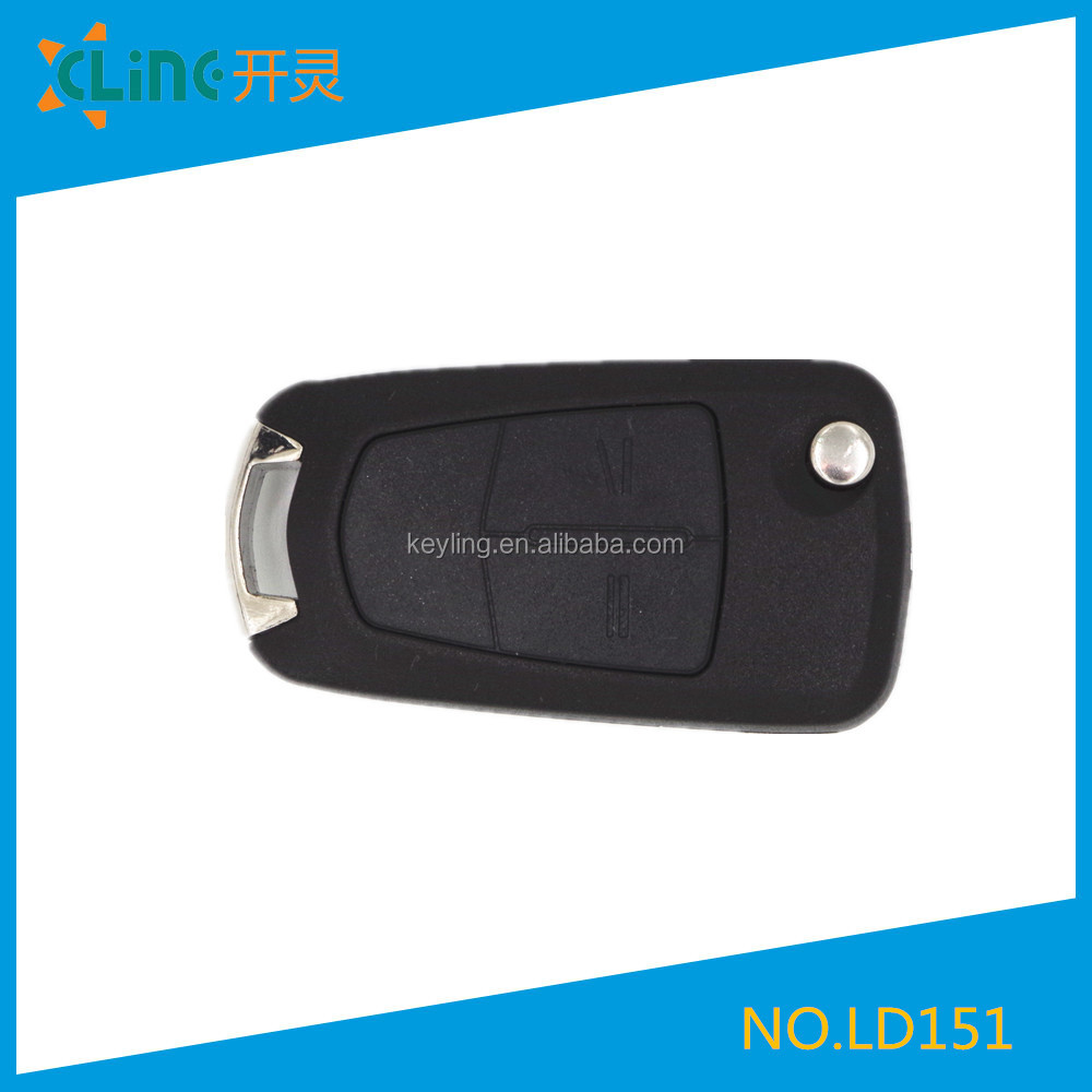 Best offer for Opel Flip Remote Key Shell 2 buttons with 4 types blade optional
