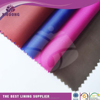 high quality taffeta manufacture price 190t taffeta shantung lining fabric