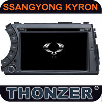 "7"" Special Car DVD with GPS Navi for SsangYong Kyron (Thonzer Private Module)"