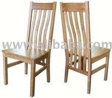 Ardenne Slatted Back Solid Oak Dining Chair (Stonebury Range)