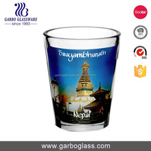 Fashionable glass cup home goods glassware for drinks