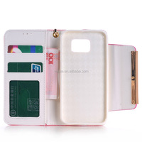 Fashion Litchi Pattern Lychee design Credit Card Wallet Stand Flip leather case for Lenovo A859