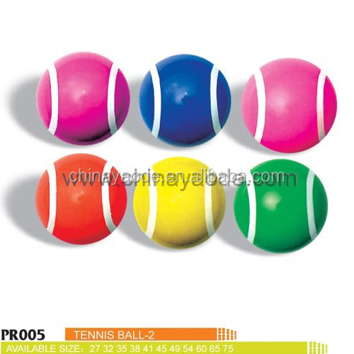 Printed tennis Bouncing Balls