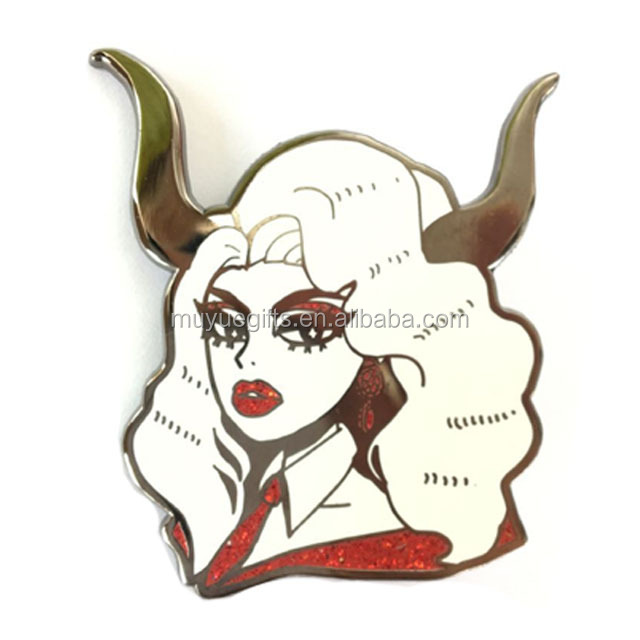 Funny Pin Badge Maker Custom Hard Enamel Pin