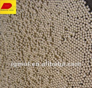 shang hai high adsorbent and no-pollution molecular sieve for Natural gas