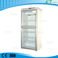 LTB-300 double clear glass door refrigerator