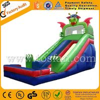 giant inflatable slide Dinosaur theme for sale A4001