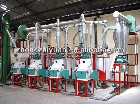 High Quality Medium Scale Maize/Corn Flour Mill with price