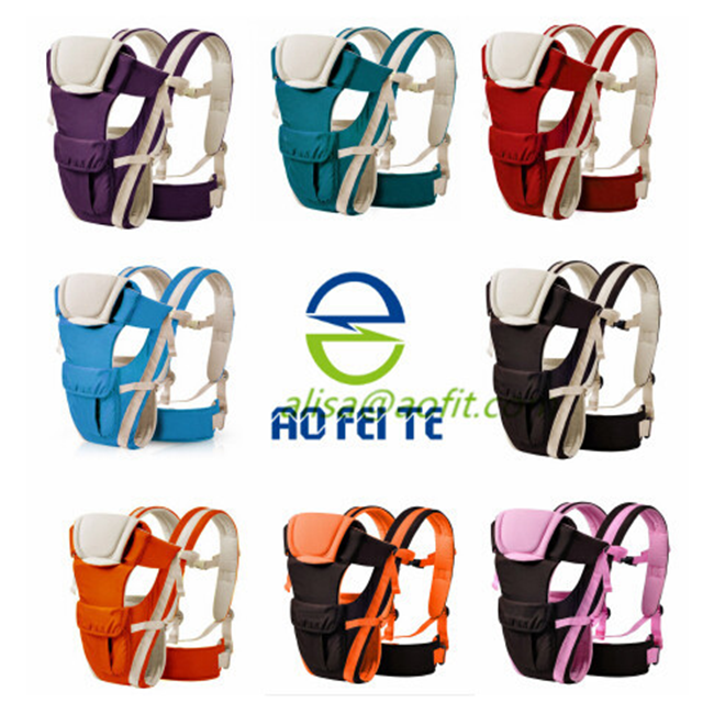 Adjustable Infant Cotton Baby Carrier Ergonomic Baby Carrier baby carrier wrap
