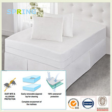 zippered magnetic waterproof mattress cover