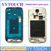 Middle Frame Replacement for samsung galaxy s4 I9500, Wholesale for Samsung Galaxy S4 i9505 Back cover Bezel Frame Full Housing
