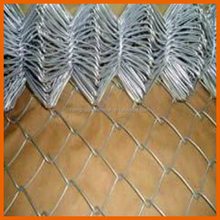 high quality flexible sports ground fencing chain link fence extensions/temporary construction chain link fen/diamond wire mesh