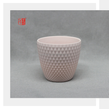 Small Size Decorative Light Pink Color Clay Ceramic Flower Pot