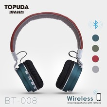 Mobile phone accessories foldable best sound cancelling stereo bluetooth headphones for pc