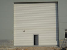 automatic exterior metal roll up doors used for workshop/warehouse