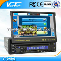 7 inch one din car dvd player With Bluetooth Ipod Control