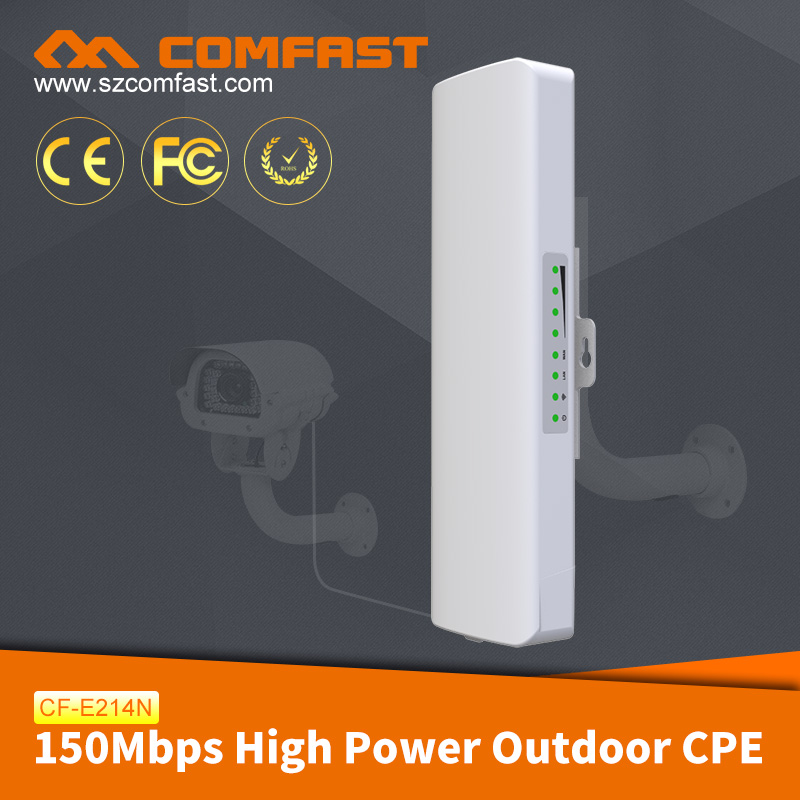 2017 Hot New Products Wireless CPE COMFAST CF-E214N Ubiquiti M2 Wireless Outdoor Antenna AP/Router/Bridge