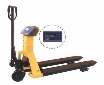 TianGe hand pallet truck with scale