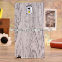 FL2683 Guangzhou hot selling wood pattern wallet pu leather flip case cover with stand for samsung galaxy note 3 n9000