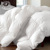 Yakangyi White Fabric Feather Filling King Size Comforter Hotel Duvet