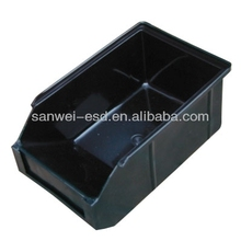 Factory Price !!! ESD Plastic Conductive Tray For Electronic Components
