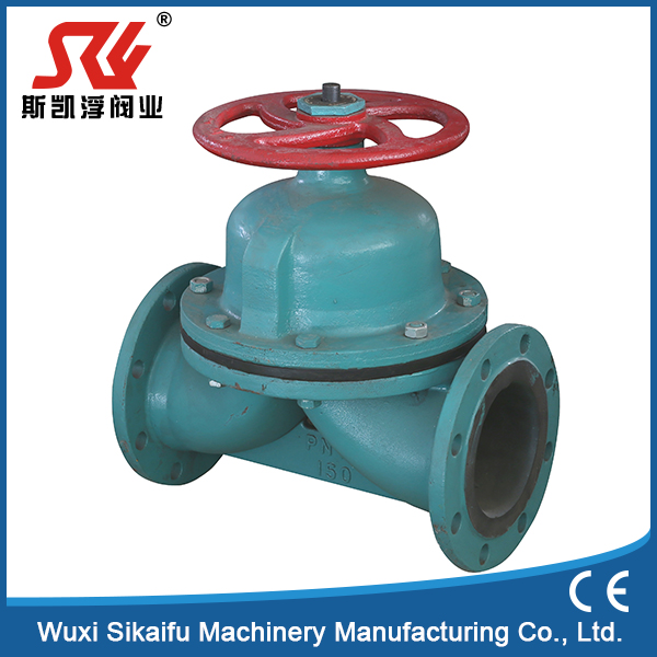 china Manufacture weir type diaphragm valve with low price