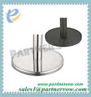 rubber Weighted pole base for queue stand barrier