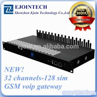 NEW One !!!2014Ejointech goip 32port 128 sim cards cdma gateway