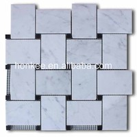 Strip marble stone mosaic tiles for exterior wall tile