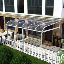Free standing aluminum balcony awning