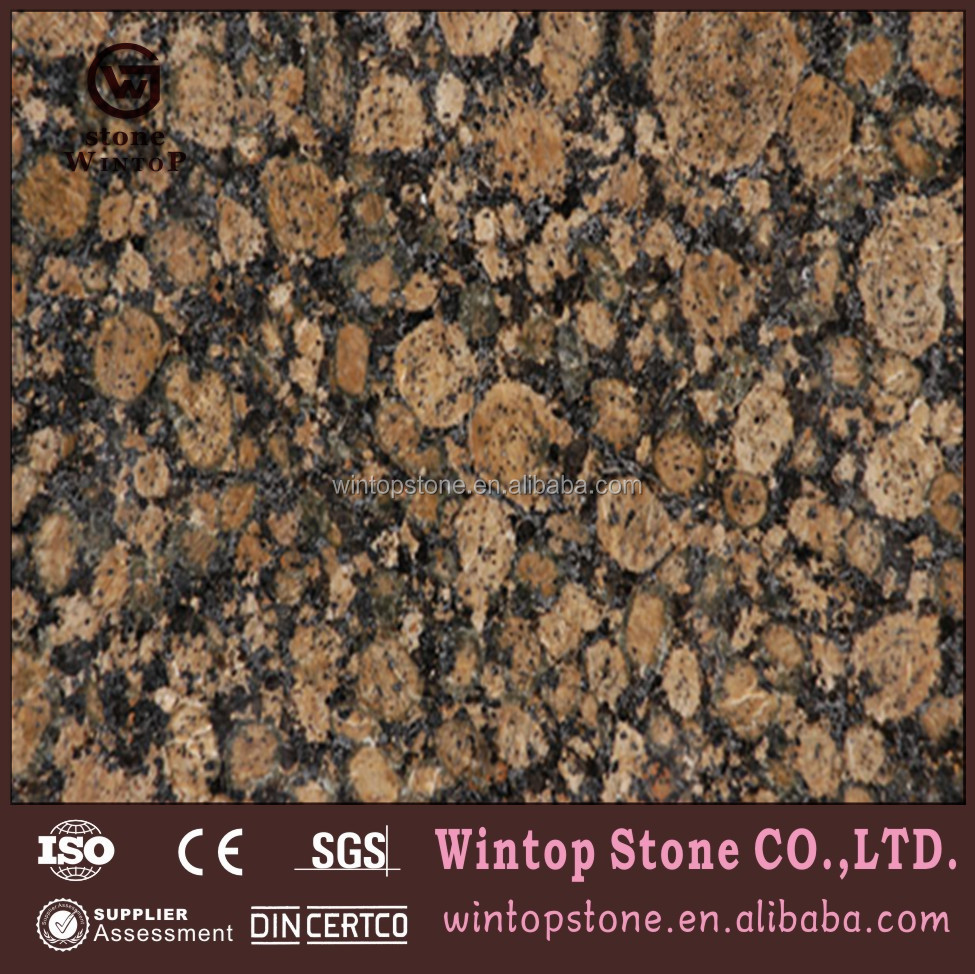 Granite paint Baltic brown granite