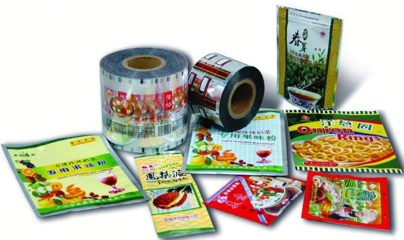 customized plastic food packaging bag
