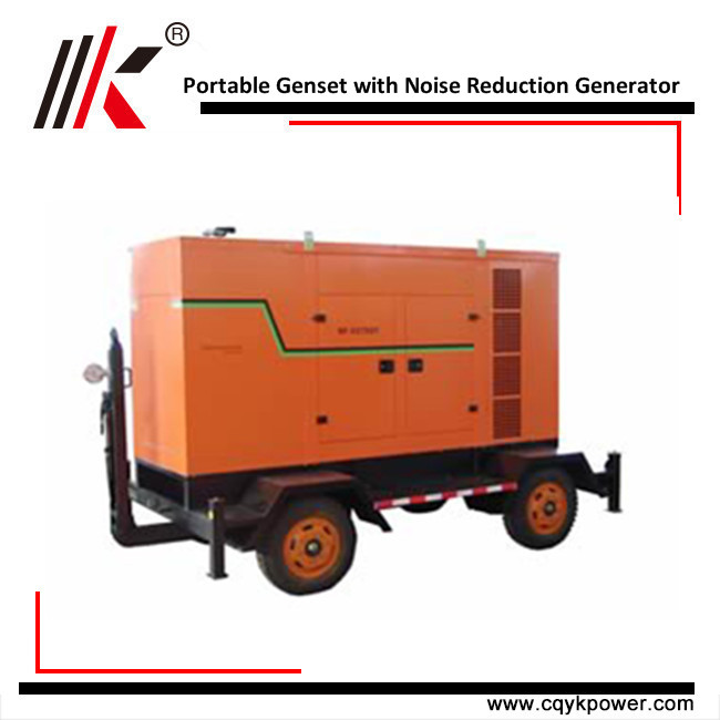 shangchai engine super silent diesel portable generator set wholesale 120kw