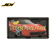 JDI-LFZN28F5 Professional Auto Promotion license plate frame