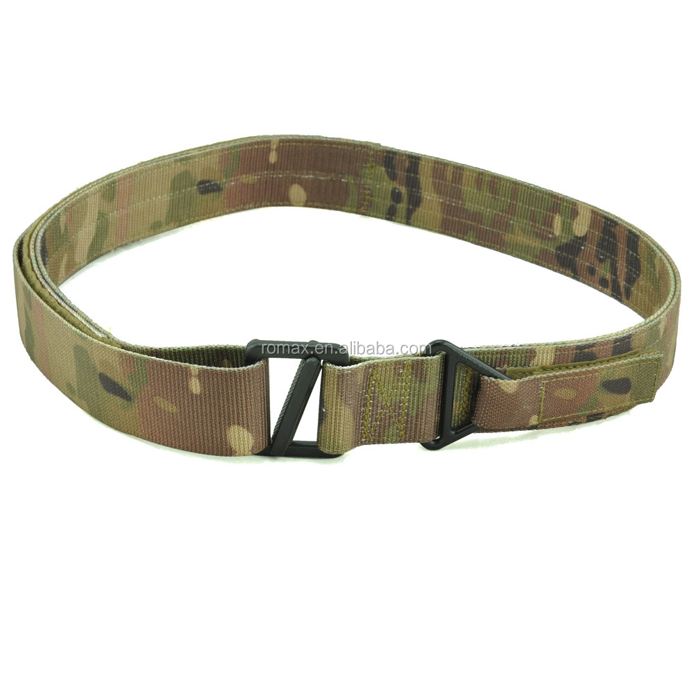C.<strong>Q</strong>.B double nylon belt tactical military style belt mutil-cam good quality best price HOT SALE