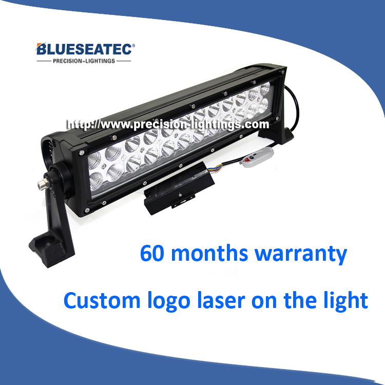 Car Dual White Amber Led Working Light, RGB Factory IP67 300W Auto Led Light Bar, Spot Flood Combo Beam