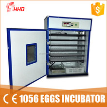 HHD big and small capacity eggs incubator/chicken duch goose eggs incubator