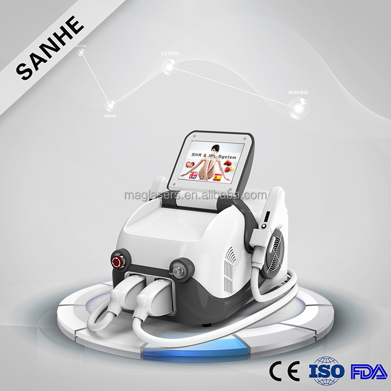 More convenience portable shr ipl home use hai removal machine/best price/CE