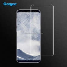 For Samsung Galaxy S8 Plus Case-friendly Anti-Shock Anti-fingerprints 3D Tempered Glass Screen Protector
