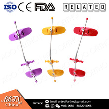 AOO high pull reverse-pull orthodontic headgear