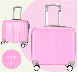 Customzied colorful lovely luggage/kids travel bags
