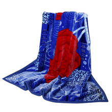 Wholesales Custom Fashion 100% Polyester 1 ply 2 ply Fresh Stock Raschel Blanket Biggest Factory Made In Yiwu