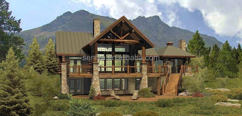 New design modular house with low price