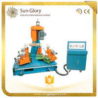 Creative Four Station Stainless Steel Mirror Polishing Machine