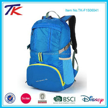 Custom Lightweight Back Pack Waterproof Bag Backpack Fold Up with 30L Capacity