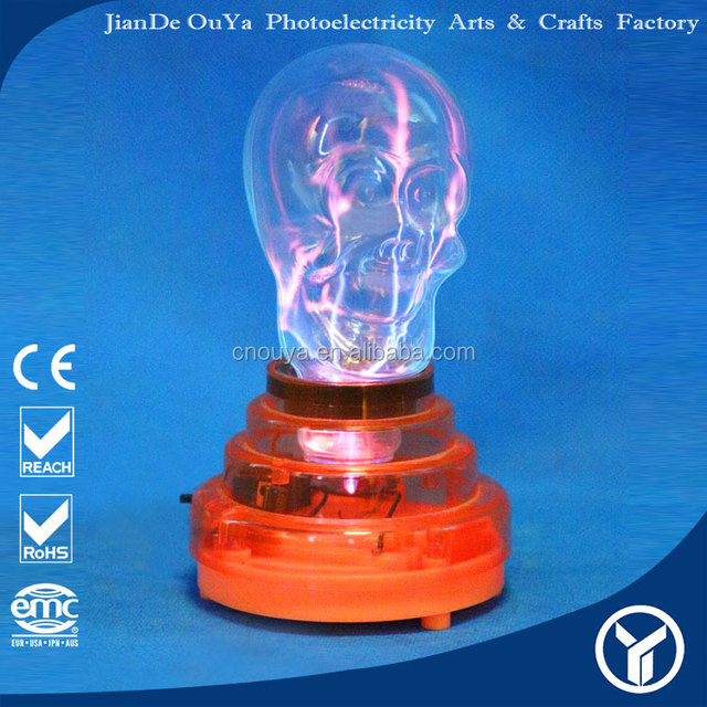 2016 hot selling products plasma electrostatic crystal magic ball with light Christmas shopping