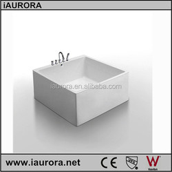 Baby bathtub 120x120cm faucet included small size hot tub